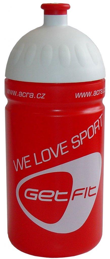 Acra lahev CSL05 0,5L červená