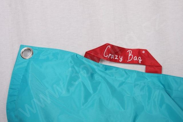 Sedací pytel CrazyBag Classic 178x140 Tyrkys