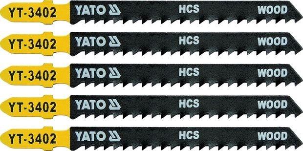 Compass List pilový do přímočaré pily 100 mm na dřevo TPI8 5 ks