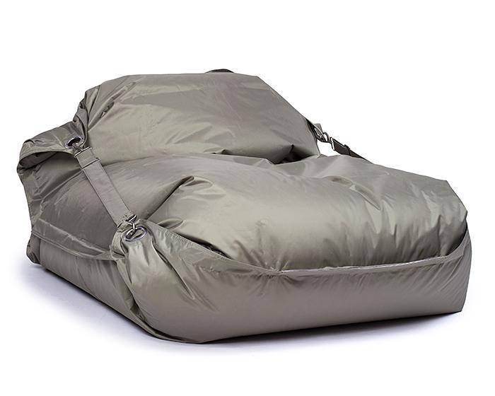 Omni Bag 181x141 Olive - sedací pytel s popruhy