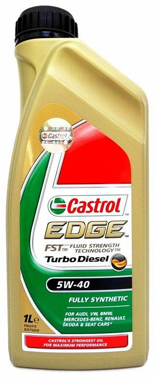 Compass Olej motorový Castrol EDGE Turbo Diesel 5W-40 1L