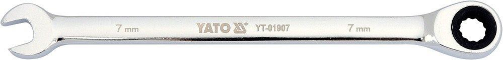 Compass Klíč očkoplochý ráčnový 7 mm