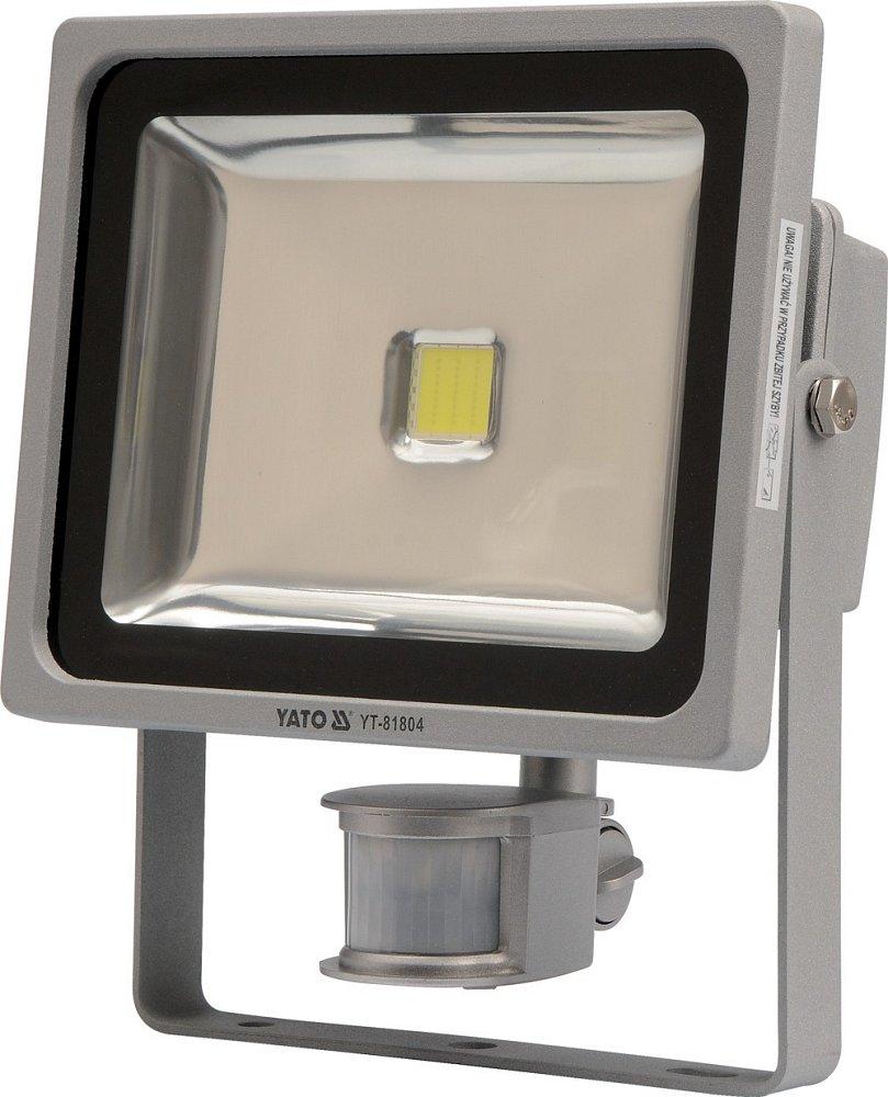 Compass Reflektor s vysoce svítivou COB LED, 30W, 2100lm, IP44, pohyb. senzor