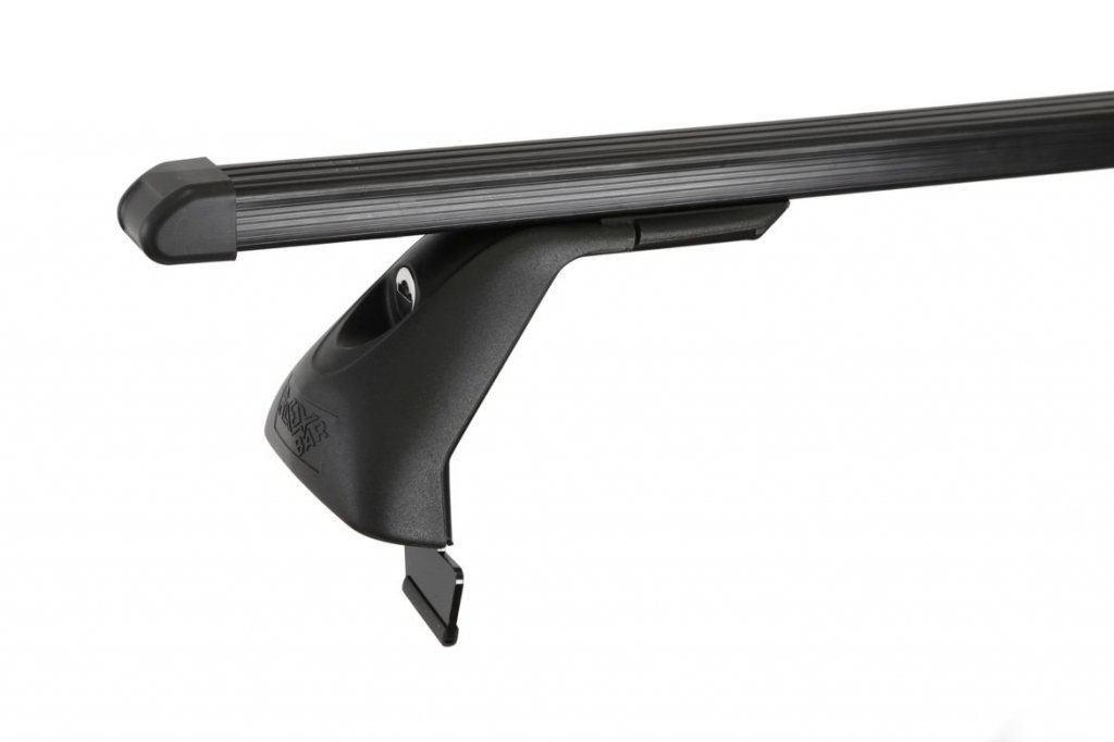 Střešní nosiče ELSON auto FL4024+TP2115 Flexbar tyče ocel - Ford Focus II 5dv/C-Max I