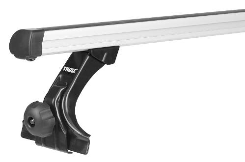 Střešní nosiče Thule Professional 9512+392 pro vozy s odtokovým žlábkem alu tyče 150cm