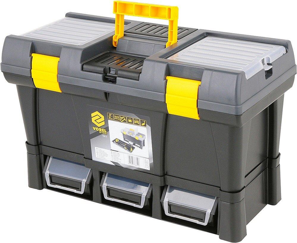 """Compass Box na nářadí plastový 20"""" + 3x zásuvka"""