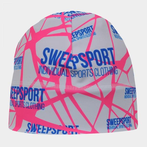 Čepice Sweep Sport SCP064B bílo/růžová fluo