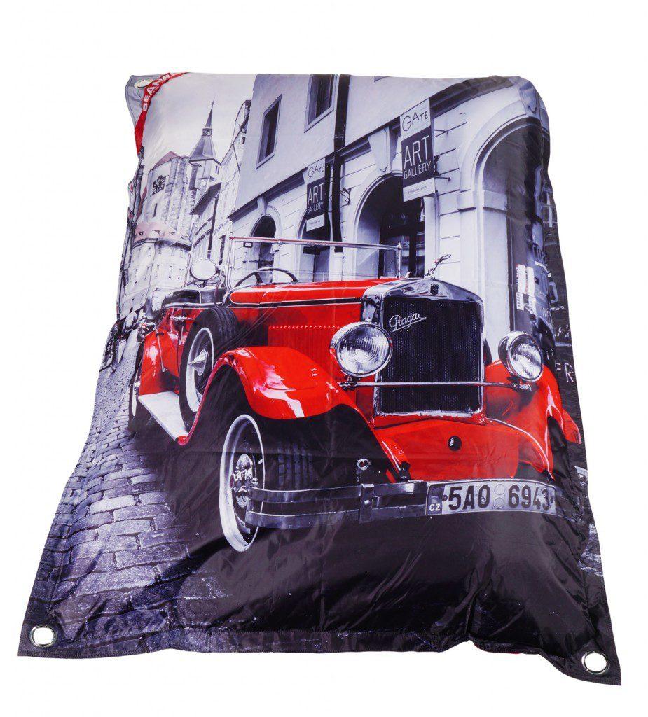 Designový sedací vak Beanbag 189x140 Prague s popruhy