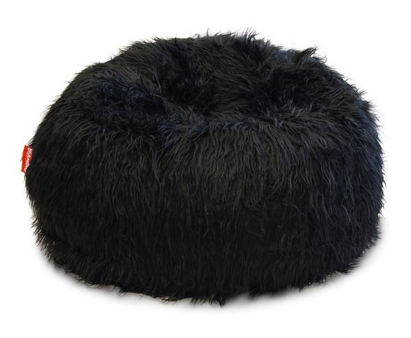 Sedací vak Beanbag Shaggy 90x50 black