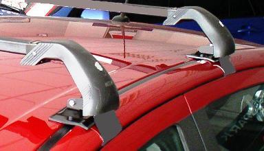 Střešní nosiče Piccola Piccar PC2081+TS3113 - pro vozy Chevrolet Aveo hatchback