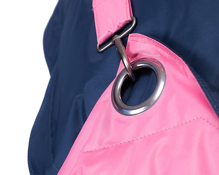 Sedací pytel Omni Bag Duo s popruhy Pink-Jeans 181x141 - SKLADOVÝ VÝPRODEJ