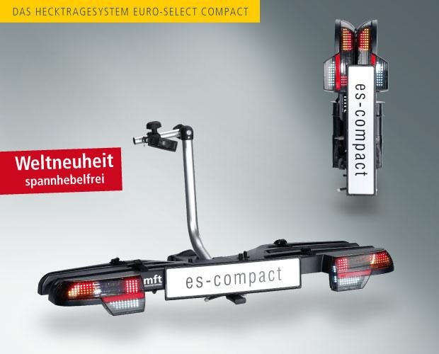 MFT Euro-select-Compact - skládací nosič pro 2 kola - ADAPTER ZÁSUVKY A DOPRAVA ZDARMA*** AKCE!!
