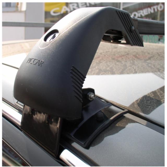 Střešní nosiče Piccola Piccar PC2068+TS2116 - pro vozy Kia Magentis