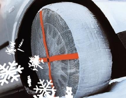 Textilní sněhové řetězy Autosock 58