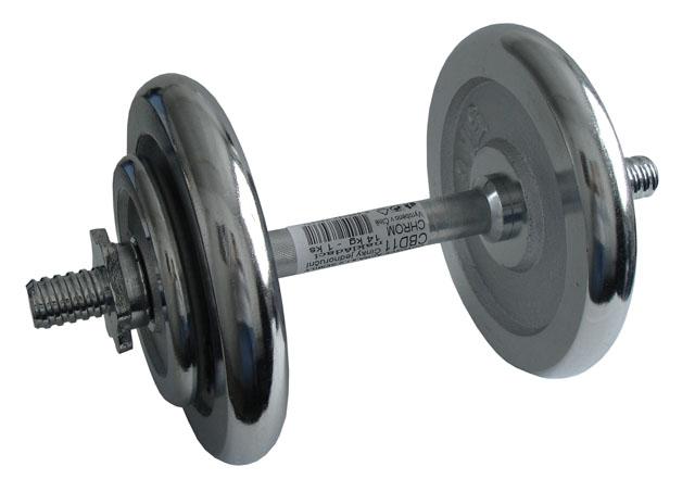 ACRA Činka nakládací, jednoruční, chromová - 14 kg