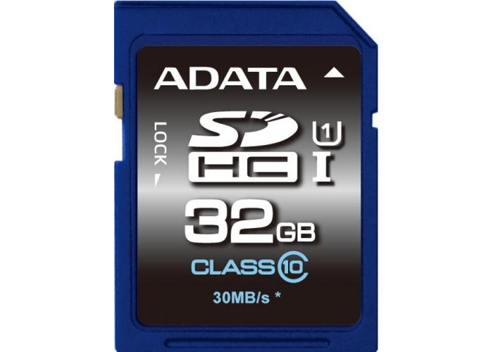 Paměťová karta Adata SDHC Premier 32GB Class10 UHS-1 - SKLADOVÝ VÝPRODEJ