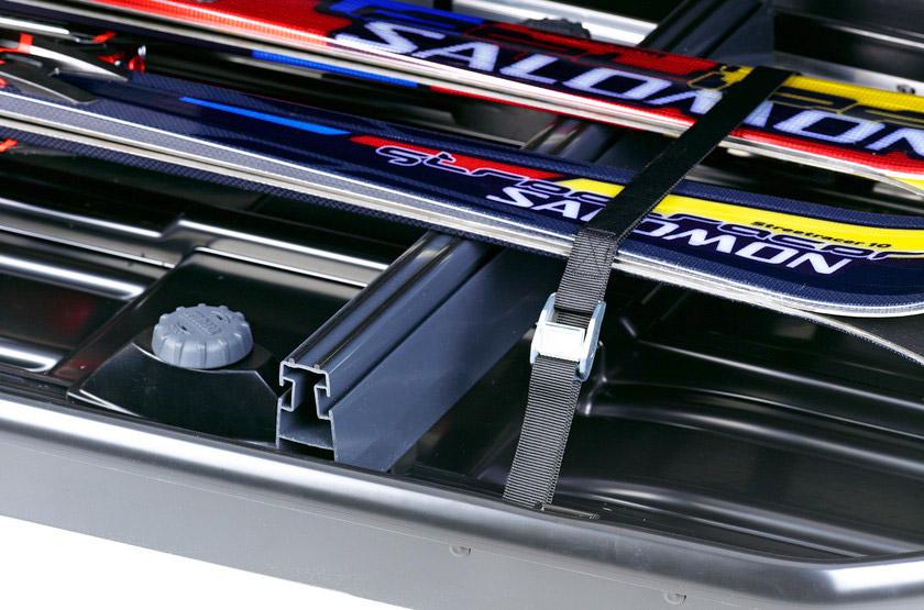 Držáky lyží Thule 6945 - příčky do střešních boxů velikosti 500