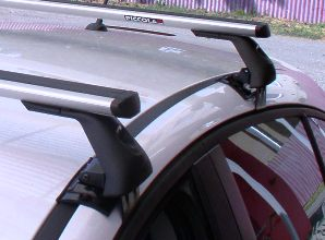 Střešní nosiče Piccola FL2086+TA2115 Flexbar Alu - Chevrolet Cruze 5dv