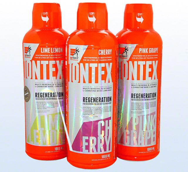Extrifit Iontex Regeneration 1000 ml pink grep + dávkovač (pumpička)