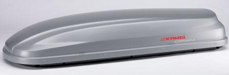Střešní boxy Kamei Corvara 475 stříbrný Duo-lift
