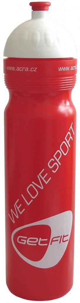 Acra lahev CSL1 1L červená