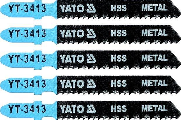 Compass List pilový do přímočaré pily na kov typ T 12TPI sada 5 ks