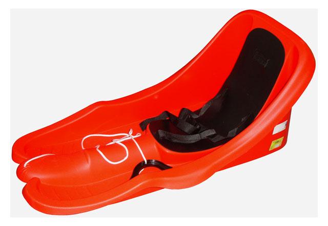 Acra Bambi bob plastový 05-A2028 - červený