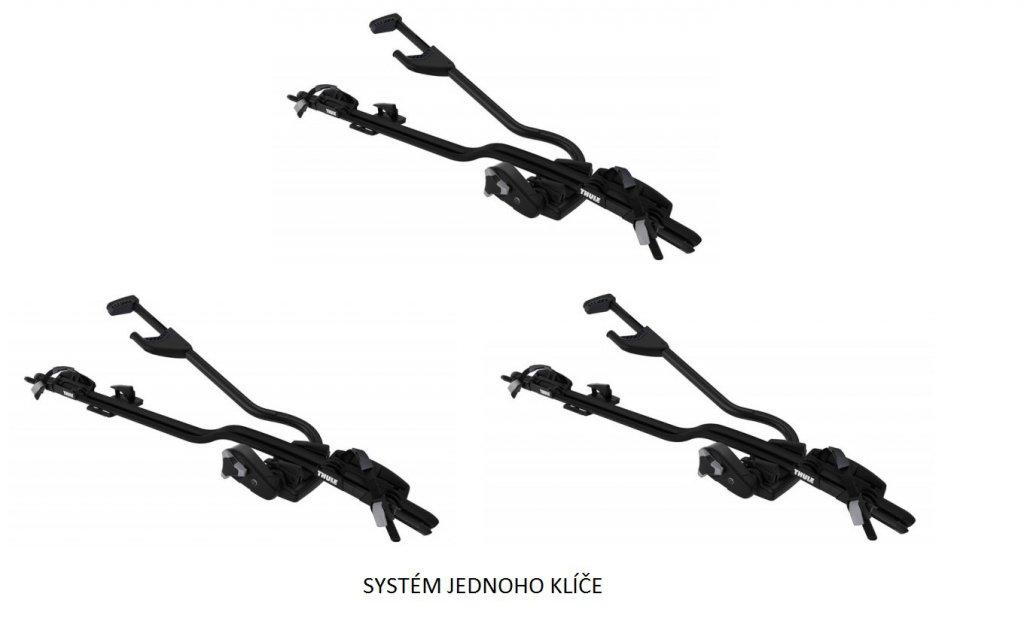 Thule ProRide 598 Black - nosič kol - akční sada 3 ks