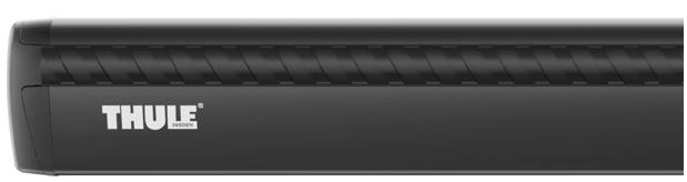 Thule Wingbar černé ALU 751+969+kit - limitovaná edice