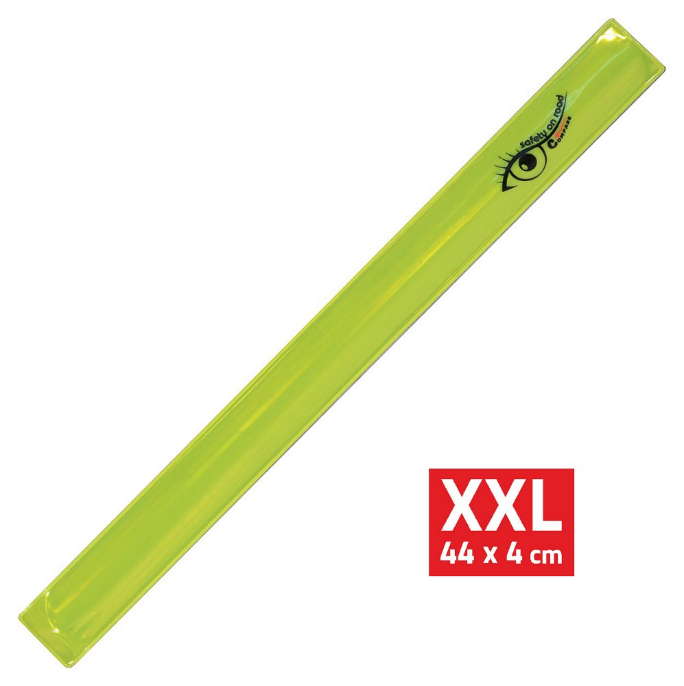 Compass Pásek reflexní ROLLER XXL 4x44cm S.O.R. žlutý