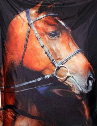 Designový sedací pytel Omni Bag s popruhy Horse 191x141