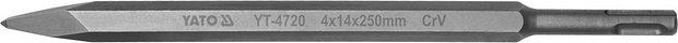 Compass Sekáč SDS+ špičatý 4 x 14 x 250 mm CrV