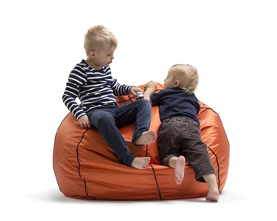 Omni Bag Basketball - sedací pytel - vzhled basketbalového míče