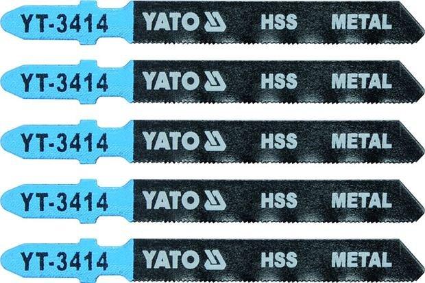 List pilový do přímočaré pily na kov typ T 32TPI sada 5 ks