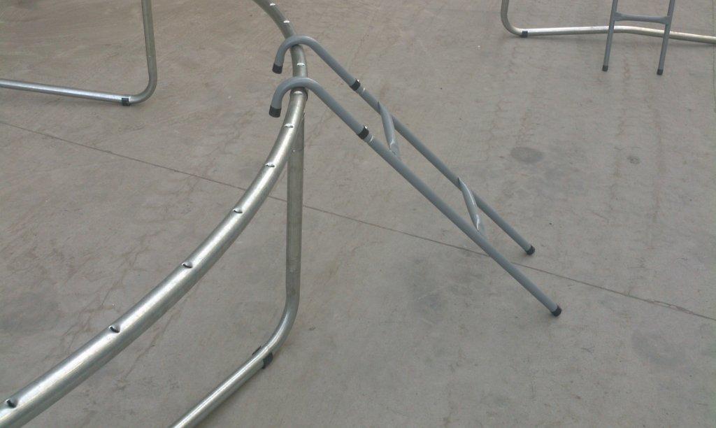 Žebřík k trampolínám ExtraJump s průměrem 213 cm