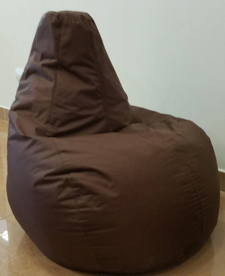 Omni Bag Game Chocolate - sedací pytel - hruška
