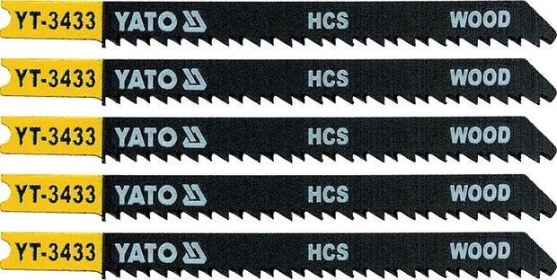 List pilový do přímočaré pily 91,5 mm na dřevo TPI10 5 ks