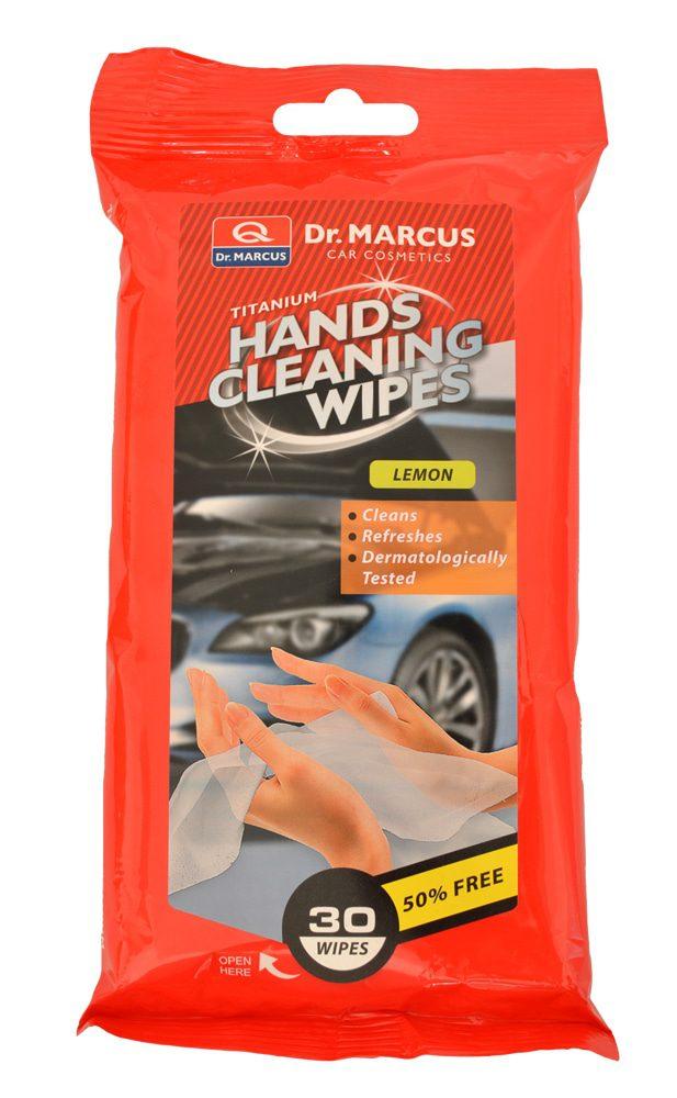 Compass DM HANDS CLEANING 30ks LEMON - čistící ubrousky na ruce