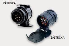 Adaptér elektrické zásuvky TZ - redukce 13-7 pinů