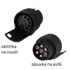 Thule 9901 - adapter 7-13 na zásuvku TZ