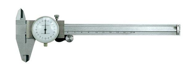 Měřítko posuvné 150 x 0,02 mm ručičkové