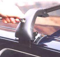 Střešní nosiče Piccola Piccar PC2011+TS3114 - pro vozy Audi A4 Avant bez podélníků