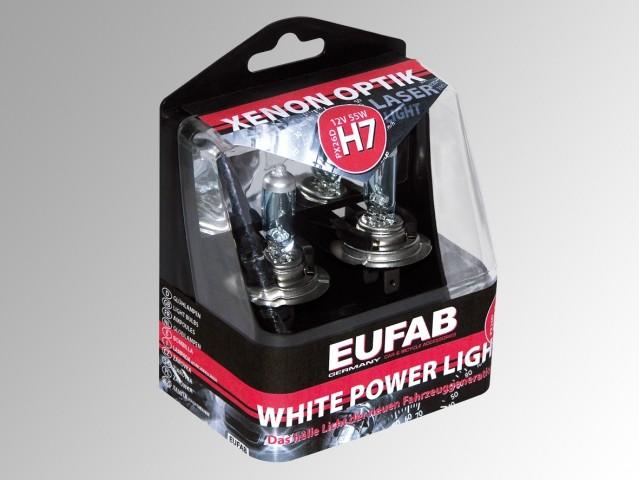 AUTOŽÁROVKYEufab H7 White Power Light