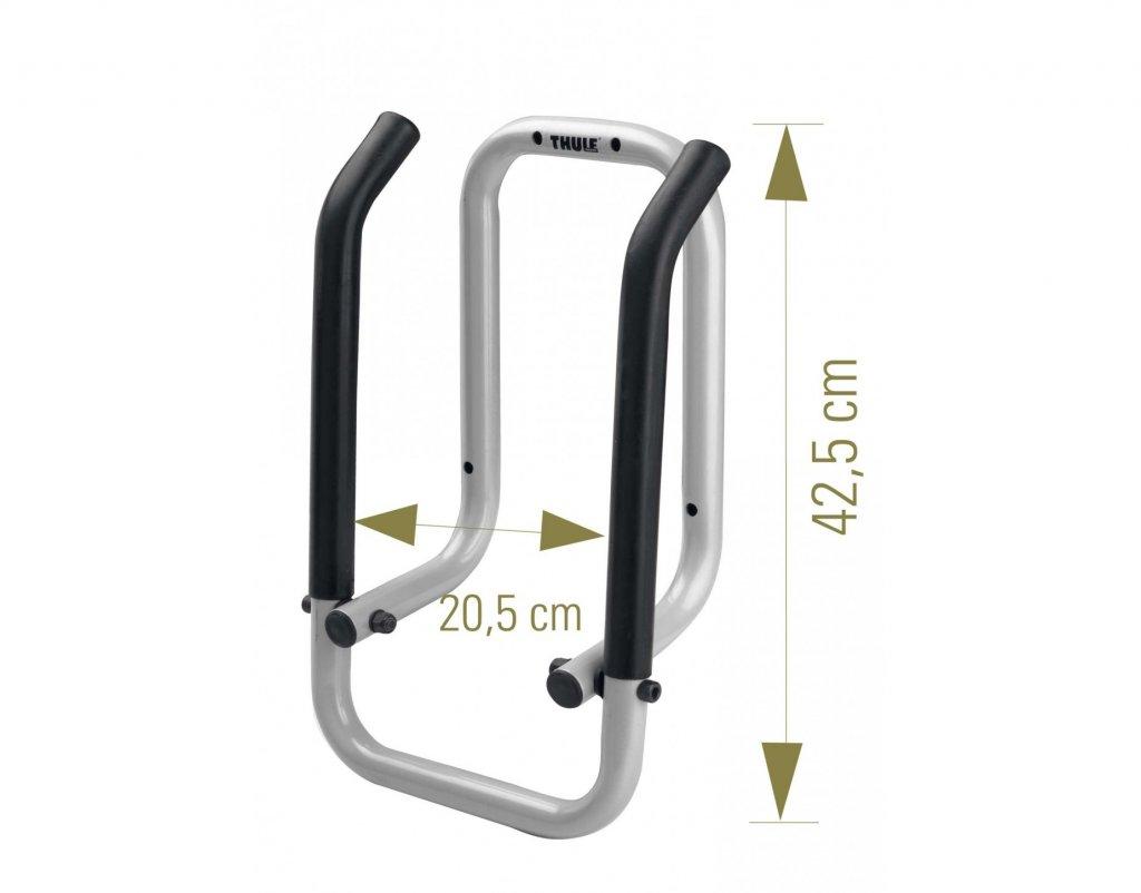 Thule 9771 Wallhanger - držák pro jízdní kola nebo nosiče kol na TZ