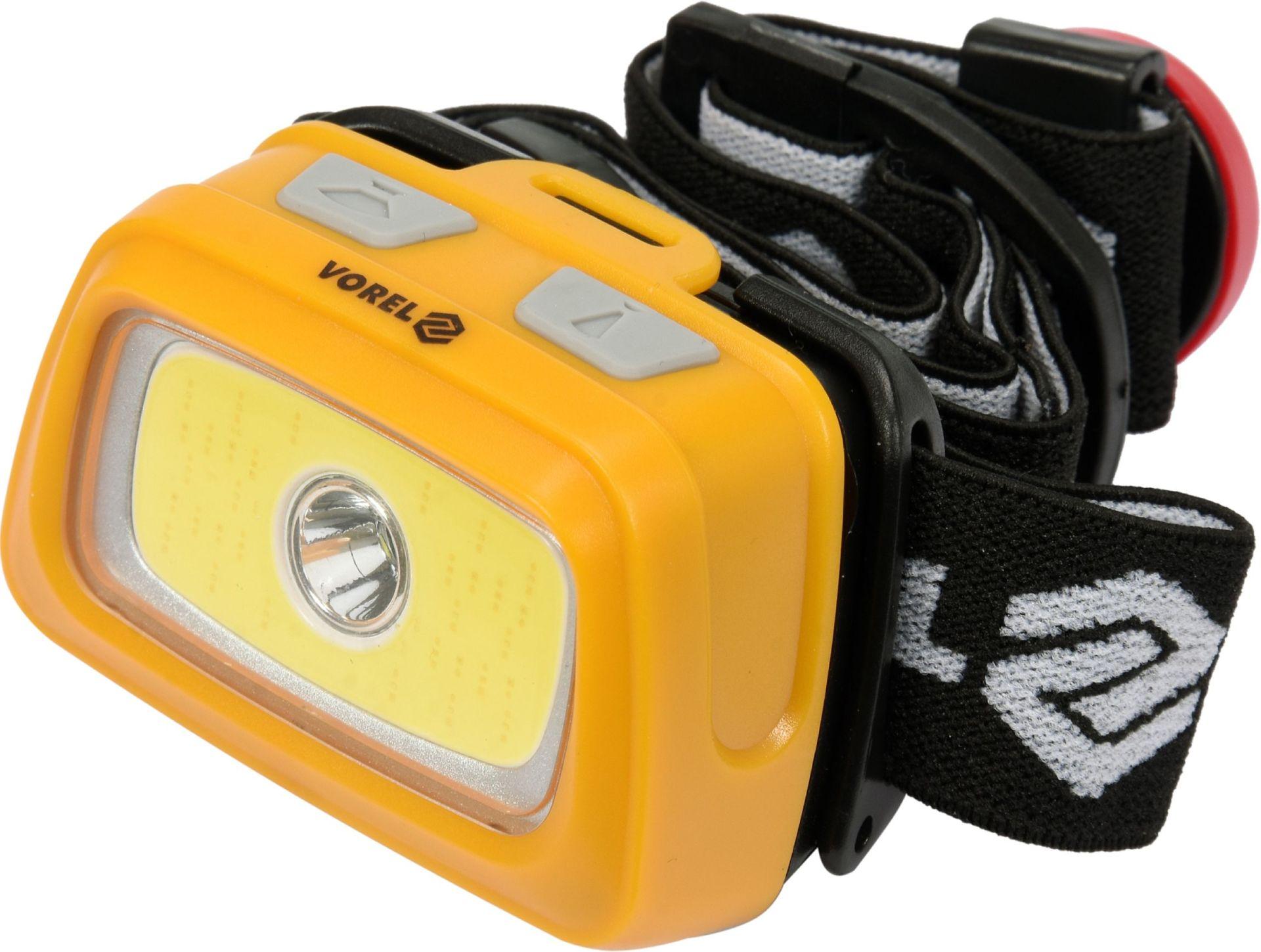 Compass Svítilna čelovka LED XPE CREE 3W + COB LED 3W