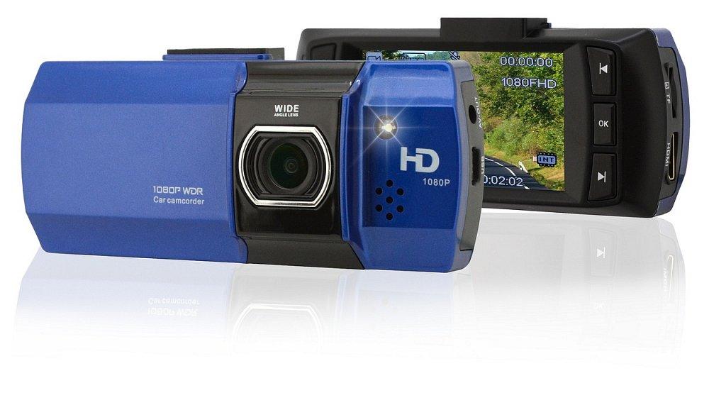 "Kamera do auta Full HD 2,7"" modrá"