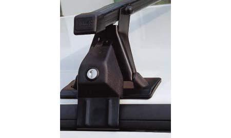 Střešní nosič Hakr pro vozy Škoda Fabia II Combi bez podélníků 0340+0019+0128