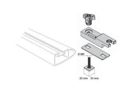 Thule 697-1 - T-adaptery pro hliníkové střešní nosiče