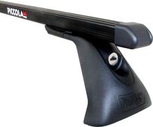 Střešní nosiče Piccola FL4025+TP2105 Flexbar tyče ocel - Hyundai i30, Kia Cee´d