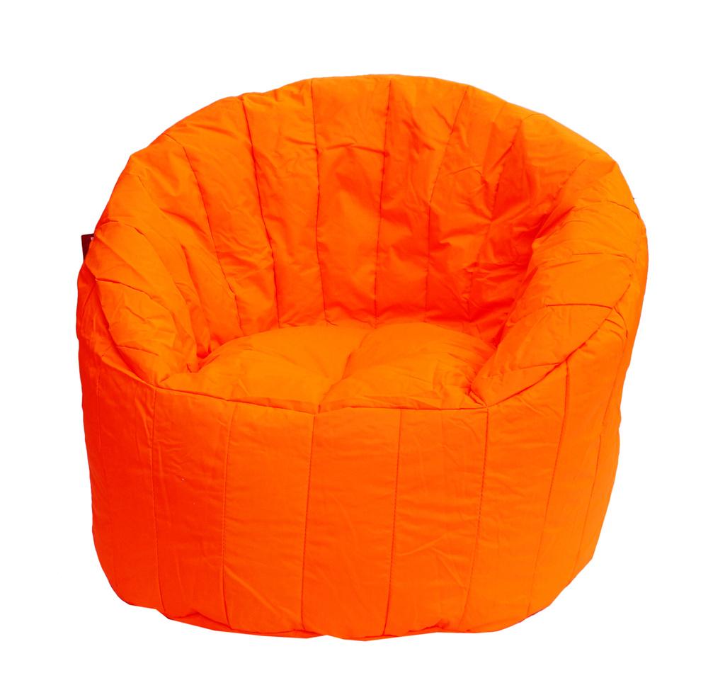 Sedací vak Chair 80x80x75 Fluo Orange
